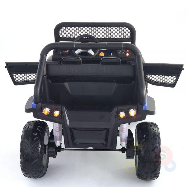 kidsvip mercedes unimog 24v ride on truck kids and toddlers blue 17