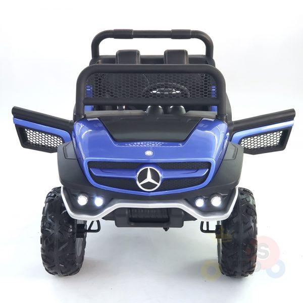 kidsvip mercedes unimog 24v ride on truck kids and toddlers blue 2