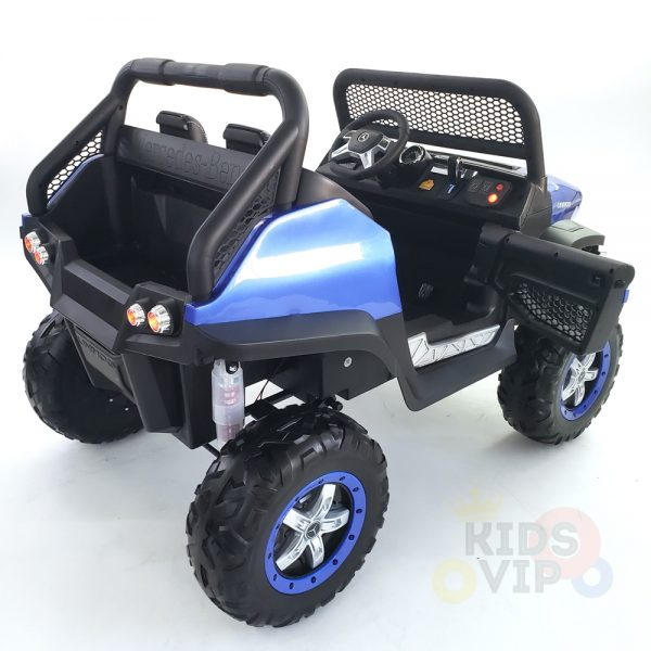 kidsvip mercedes unimog 24v ride on truck kids and toddlers blue 21