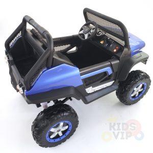 kidsvip mercedes unimog 24v ride on truck kids and toddlers blue 23