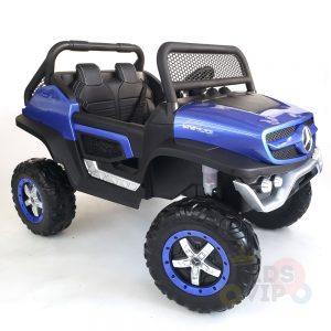 kidsvip mercedes unimog 24v ride on truck kids and toddlers blue 28