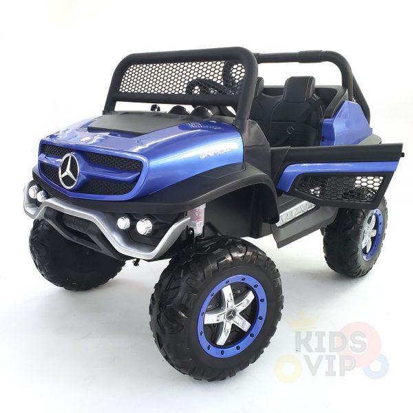 kidsvip mercedes unimog 24v ride on truck kids and toddlers blue 5