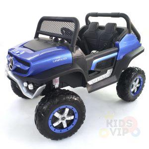 kidsvip mercedes unimog 24v ride on truck kids and toddlers blue 7