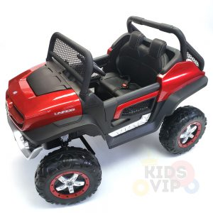 kidsvip mercedes unimog 24v ride on truck kids and toddlers red 14