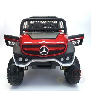 kidsvip mercedes unimog 24v ride on truck kids and toddlers red 31