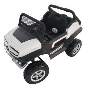kidsvip mercedes unimog 24v ride on truck kids and toddlers white 19