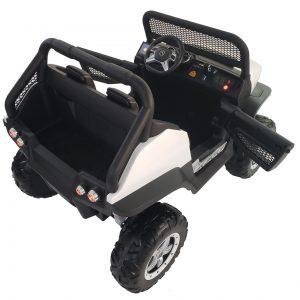 kidsvip mercedes unimog 24v ride on truck kids and toddlers white 23