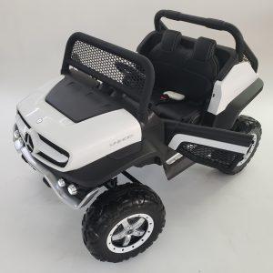 kidsvip mercedes unimog 24v ride on truck kids and toddlers white 26