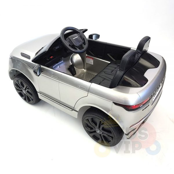 kidsvip range rover evoque 12v kids and toddlers ride on car painted silver 11
