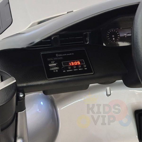 kidsvip range rover evoque 12v kids and toddlers ride on car painted silver 18