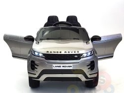 kidsvip range rover evoque 12v kids and toddlers ride on car painted silver 2