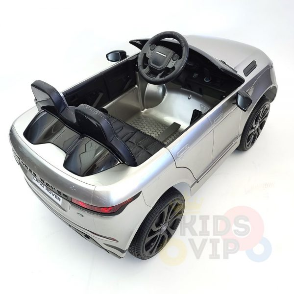 kidsvip range rover evoque 12v kids and toddlers ride on car painted silver 23