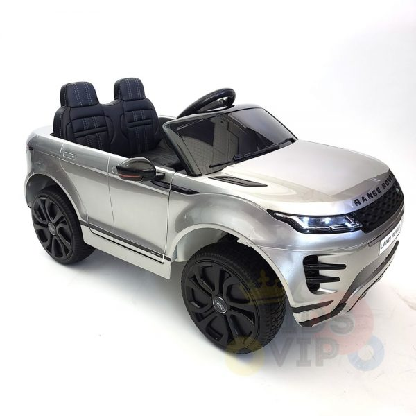 kidsvip range rover evoque 12v kids and toddlers ride on car painted silver 27
