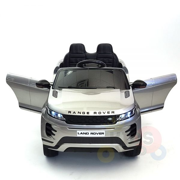 kidsvip range rover evoque 12v kids and toddlers ride on car painted silver 31