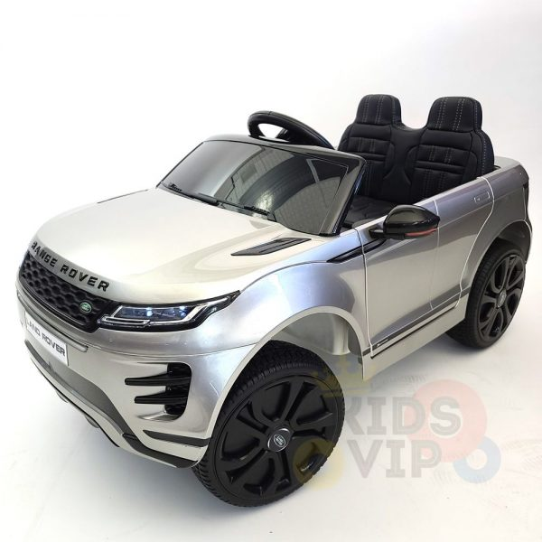 kidsvip range rover evoque 12v kids and toddlers ride on car painted silver 8