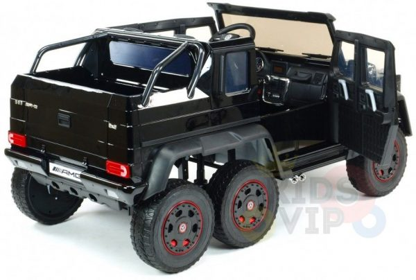 Official Limited 2 Seater REAL 6x6 Mercedes Benz G63 AMG 2X12V Kids Ride on Car with RC