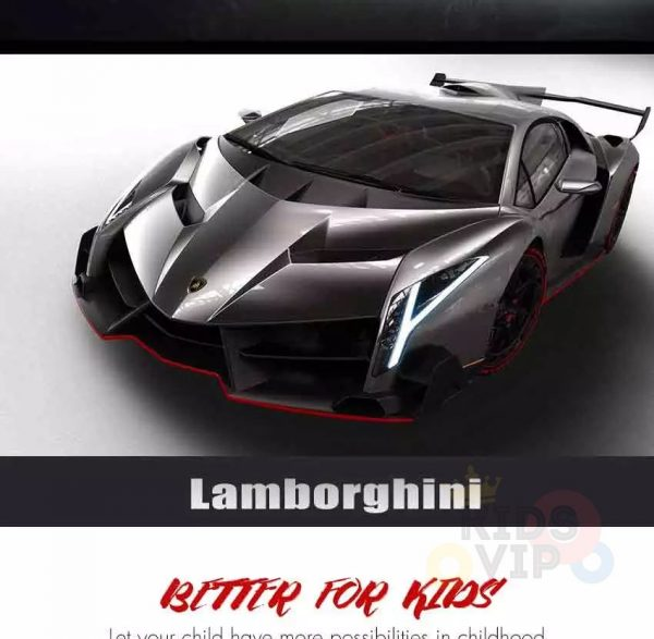 Limited MP4 Edition 2 Seater Lamborghini Veneno Kids and Toddlers 4WD Ride on Car with RC