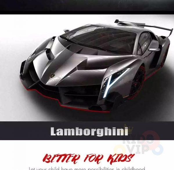 2 seats lamborghini ride on kids and toddlers ride on car 12v black 1