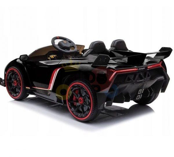 2 seats lamborghini ride on kids and toddlers ride on car 12v black 52