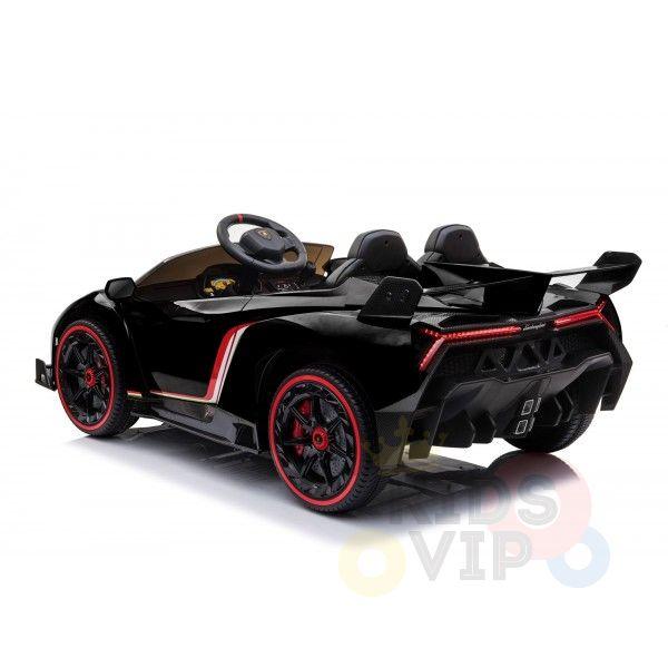 2 seats lamborghini ride on kids and toddlers ride on car 12v black 7