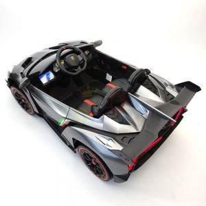 2 seats lamborghini ride on kids and toddlers ride on car 12v silver 13