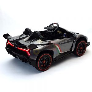 2 seats lamborghini ride on kids and toddlers ride on car 12v silver 37