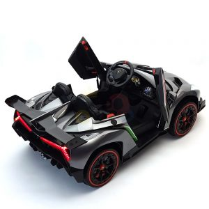 2 seats lamborghini ride on kids and toddlers ride on car 12v silver 41