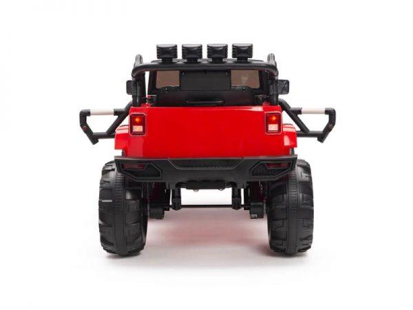 kidsvip big wheels 12v ride on truck jeep red 2