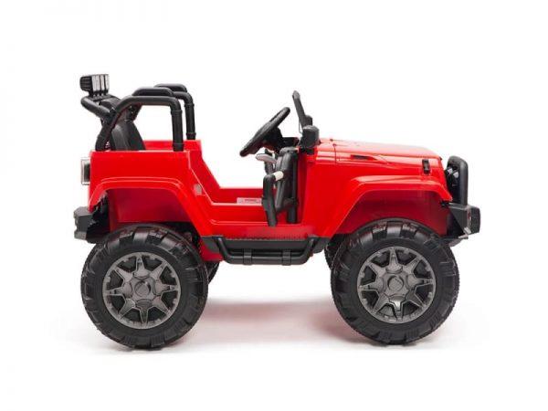 kidsvip big wheels 12v ride on truck jeep red 9