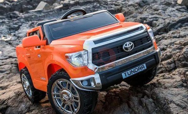 kids ride on car tundra 12 toyota 12v kidsvip orange KIDS 10