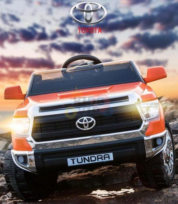 kids ride on car tundra 12 toyota 12v kidsvip orange KIDS 11