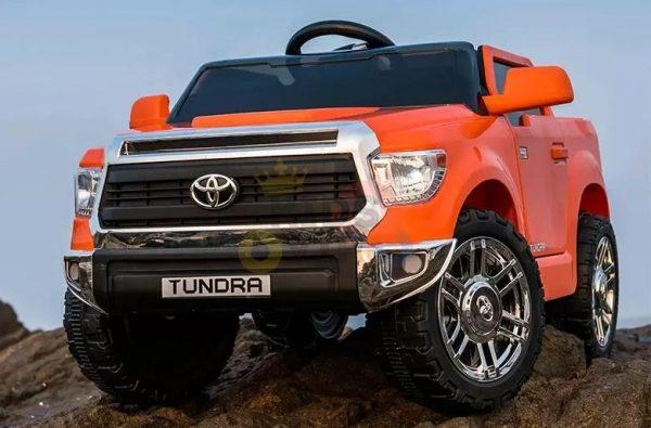 kids ride on car tundra 12 toyota 12v kidsvip orange KIDS 14