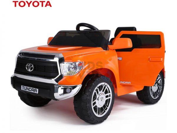 kids ride on car tundra 12 toyota 12v kidsvip orange KIDS 16