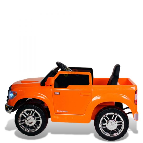 kids ride on car tundra 12 toyota 12v kidsvip orange KIDS 4