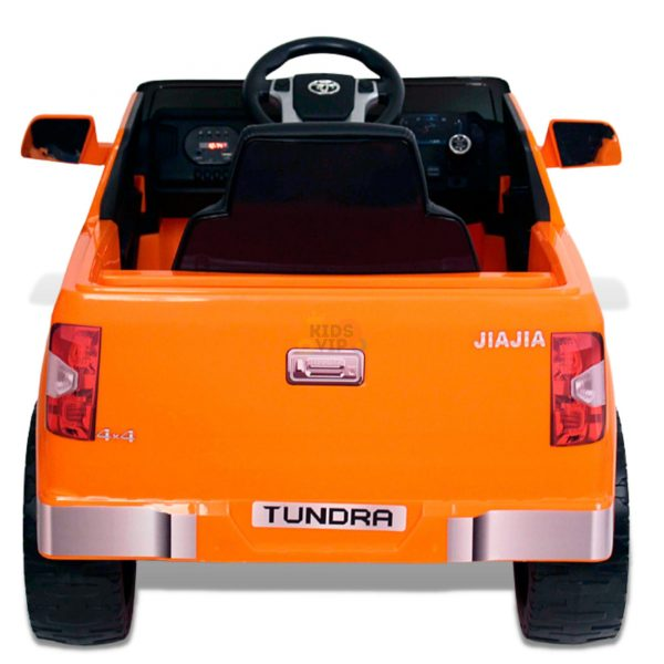 kids ride on car tundra 12 toyota 12v kidsvip orange KIDS 5