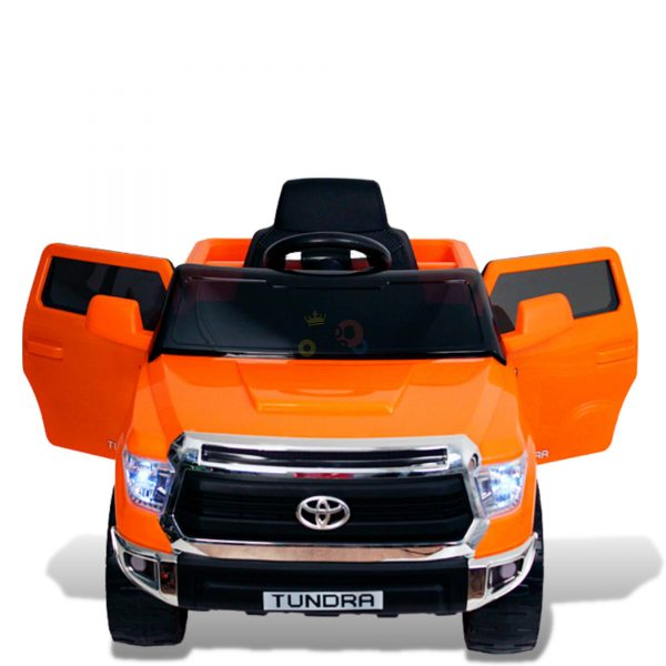 kids ride on car tundra 12 toyota 12v kidsvip orange KIDS 6