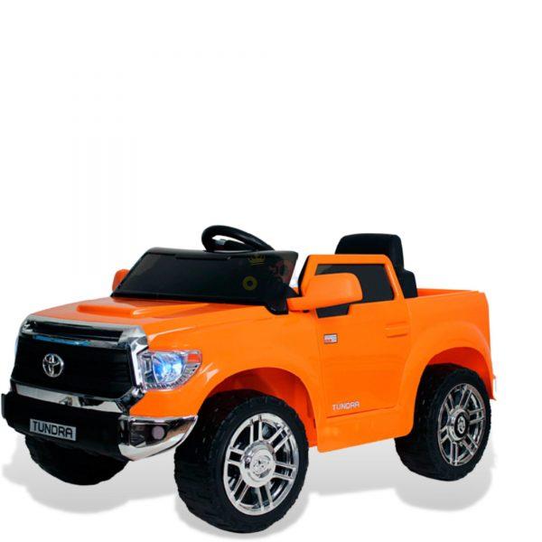 kids ride on car tundra 12 toyota 12v kidsvip orange KIDS 7