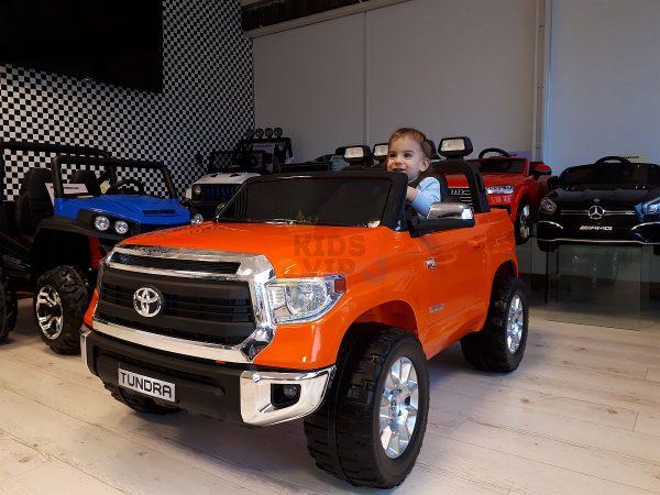 kids ride on car tundra 12 toyota 12v kidsvip orange KIDS 8