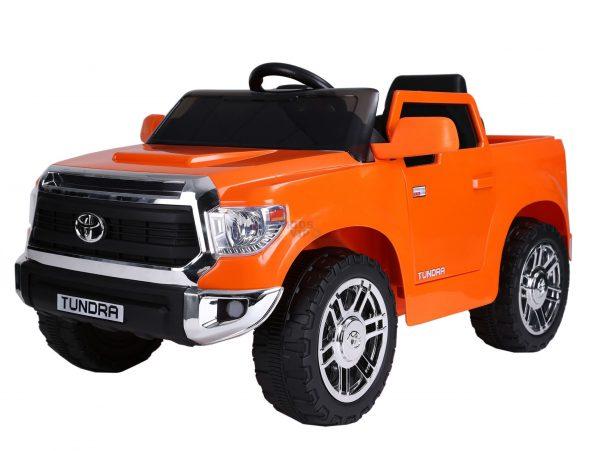 kids ride on car tundra 12 toyota 12v kidsvip orange KIDS 9
