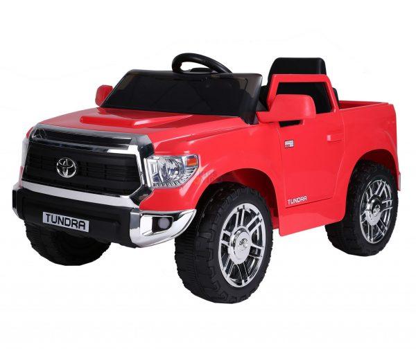kids ride on car tundra 12 toyota 12v kidsvip red 10