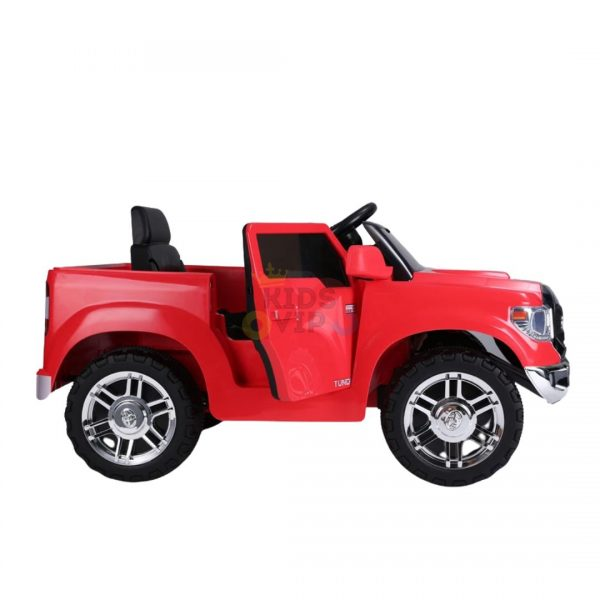 kids ride on car tundra 12 toyota 12v kidsvip red 4