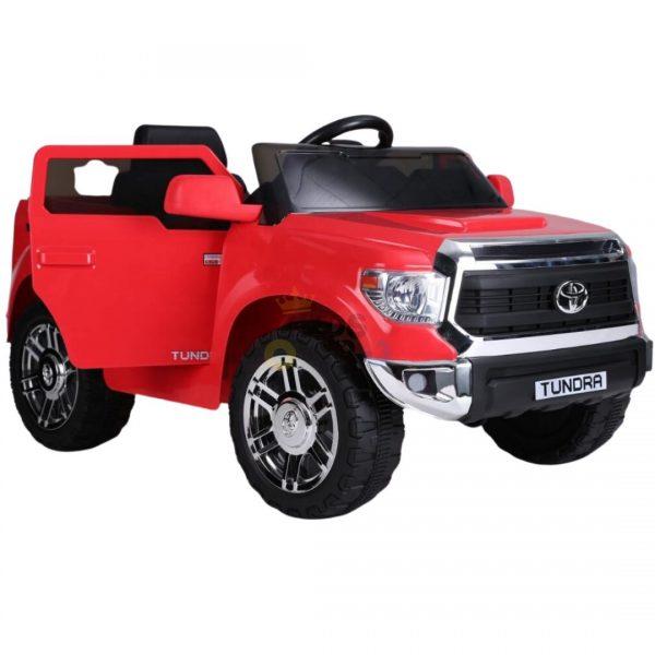 kids ride on car tundra 12 toyota 12v kidsvip red 5