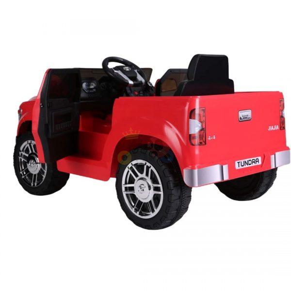 kids ride on car tundra 12 toyota 12v kidsvip red 6