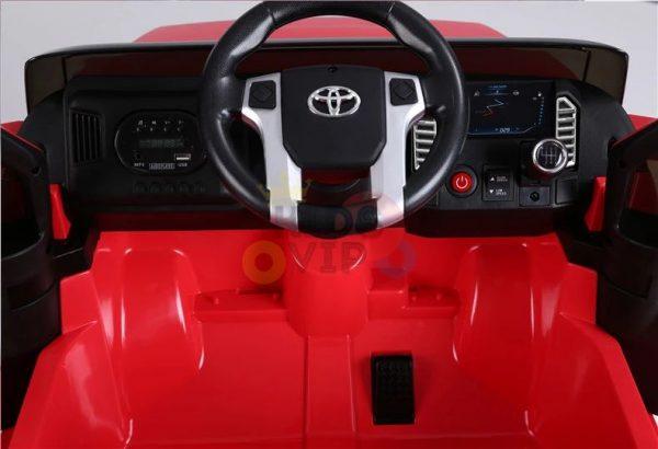 kids ride on car tundra 12 toyota 12v kidsvip red 8