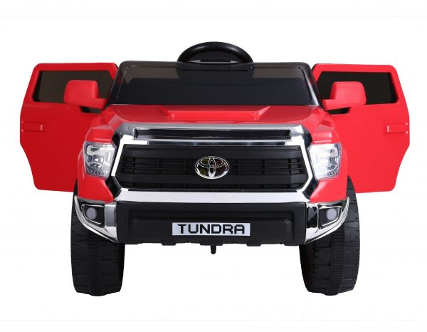 kids ride on car tundra 12 toyota 12v kidsvip red 9