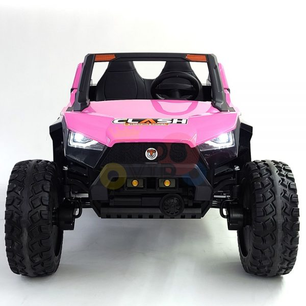 kids vip dune buggy challenger 24v sx1928 ride on kids 2 seater mp4 rubber wheels PINK 1