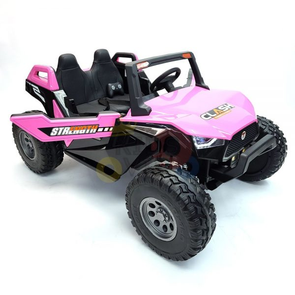 kids vip dune buggy challenger 24v sx1928 ride on kids 2 seater mp4 rubber wheels PINK 11