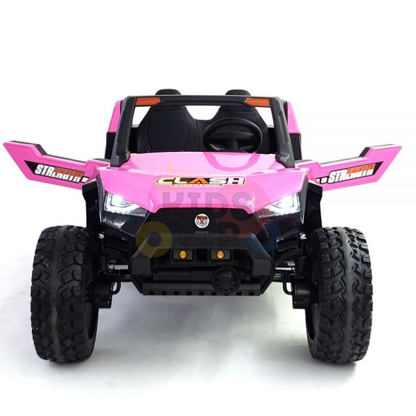 kids vip dune buggy challenger 24v sx1928 ride on kids 2 seater mp4 rubber wheels PINK 2