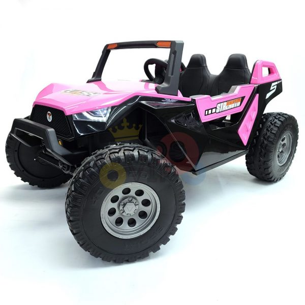 kids vip dune buggy challenger 24v sx1928 ride on kids 2 seater mp4 rubber wheels PINK 5