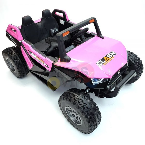 kids vip dune buggy challenger 24v sx1928 ride on kids 2 seater mp4 rubber wheels PINK 7